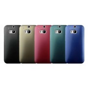ONE M8 Hard Shell Back Cover Metallic