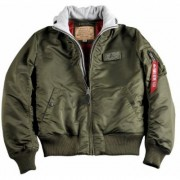 Alpha Industries MA-1 D-Tec Giacca Verde XL