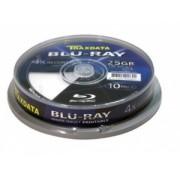 TRAXDATABD-R BLU-RAY 25GB 4XFF PRINT CAKE 10