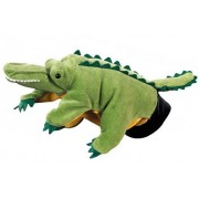 Hape Hand Glove Puppet Crocodile, Multi Color