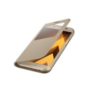 Samsung Galaxy A5 (2017), S View Standing Cover, Gold