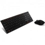 Безжичен комплект: клавиатура и мишка RAPOO 9060, Черен - RAPOO-11356