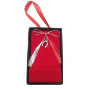 Martisor din argint 925, model Potcoava filigran, 7 x 8 mm