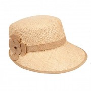 HUTTER cappello paglia a visiera larga per donna
