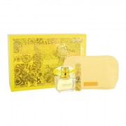 Versace Yellow Diamond confezione regalo eau de toilette 90 ml + eau de toilette 10 ml + trousse da donna