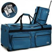 Cross160L pojízdná cestovní taška DEU889 modrá