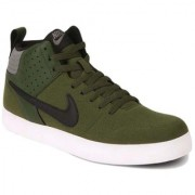 Nike Men's Liteforce III Mid Olive Sneakers