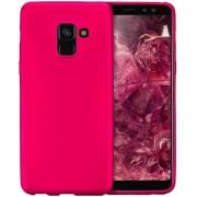 Protectie spate Senno Pure Flex Slim Mate TPU pentru Samsung Galaxy A8 2018 (Roz)