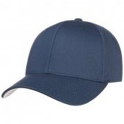 Cappellishop Spandex Flexfit Cap in denim, Gr. L/XL (58-61 cm)