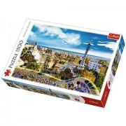 Trefl Puzzle Park Guell Barcelona 1500