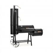 Klarstein Monstertruck grill, füstölő, BBQ, acél, fekete (GQ8-Monstertruck)