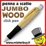 PENNA a SCATTO GIGANTE effetto legno FRASSINO