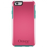 OtterBox SYMMETRY SERIES Case for iPhone 6/6s (4.7 Version) - Retail Packaging - TEAL ROSE (BLAZE PINK/LIGHT TEAL)