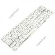 Tastatura Laptop Asus X550V varianta 2 alba cu rama