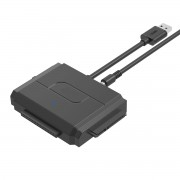 Convertitore da USB3.0 a IDE + SATA II