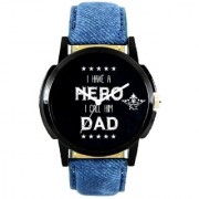 Hero For Dad Wrist Analog Watch For Men By Google Hub