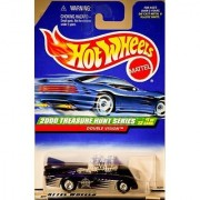 Hot Wheels 2000 049 BLUE DOUBLE VISION TREASURE HUNT SERIES 1 of 12 1:64 Scale Die-cast Collectible Car