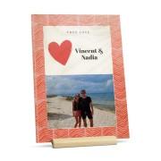 YourSurprise Carte Saint Valentin en bois - Portrait