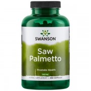 Swanson Saw Palmetto 540 mg 250 kapslí - 250 kapslí