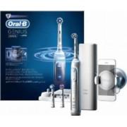 Periuta de dinti electrica Oral-B Genius 8000 40000 pulsatii-min 8800 oscilatii-min Curatare 3D 5 programe 3 capete Alb
