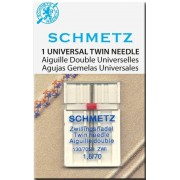 Schmetz univerzális ikertű, 1.6mm/70, 130/705H ZWI
