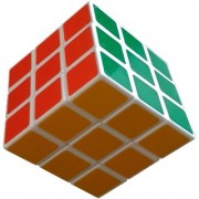 HIGH SPEED EXTRA SMOOTH MULTI COLOUR STICKER LESS RUBIK CUBE PUZZLE (1 Pieces) BY SHREE EXIM