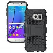 Capa Híbrida Antiderrapante para Samsung Galaxy S7 - Preto