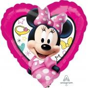 Balon inima Minnie 43 cm