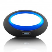 Lenco Altoparlante Stereo Bluetooth BT-210 Light Nero