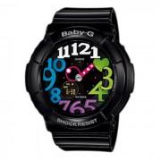 Casio g-choque BGA-131-1B2 neon iluminador serie ladies baby-g reloj
