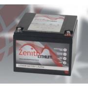 Batería de litio 12 voltios 16 amperios Zenith LiFePO4 166x175x126 mm