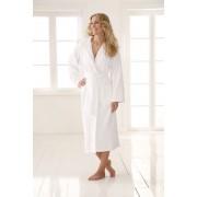 Frottír fürdőköpeny Deluxe fehér Méret: L