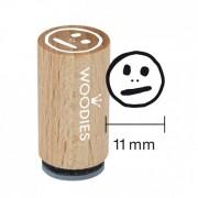 RoyalPosthumus Mini Woodies Stempel - Smiley MITTEL
