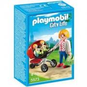 Комплект Плеймобил 5573 - Майка с близнаци, Playmobil, 291049