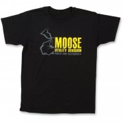 Moose Racing T-shirt Mud 2018 Svart