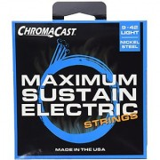 ChromaCast CC-GS-MS-L-4PACK Maximum Sustain Light Electric Guitar Strings .009-.042 4-Pack