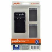 Jupio Kit: 2x Battery PS-BLS5 / PS-BLS50 1210mAh + USB Singl