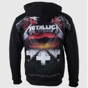 felpa con capuccio uomo Metallica - Master of Puppets - NNM - RTMTLZHBMOP