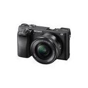 Câmera Sony Alpha A6300 Mirrorless com Lente 16-50mm f/3.5-5.6 OSS