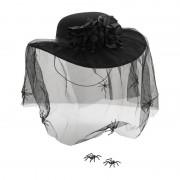 Xenos Hoed met net en spinnen