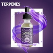 Greeneo E-liquide au CBD 200 mg et aux terpènes de cannabis Grand Daddy Purple (Greeneo)