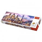 Trefl Puzzle Slagalica Panorama Piazza Navona Rome 500 kom (29501)