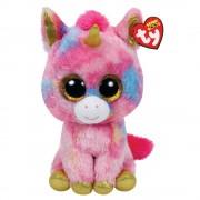 TY Beanie Boos FANTASIA - Multifärgad Unicorn 15cm