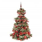 Xmasdeco Luxe kunstkerstboom bordeaux warm 150cm