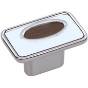 Doyours Chrome Cabinet Knob White Metal