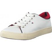 Tommy Hilfiger Vali 3D 118 Snow Wht, Skor, Sneakers & Sportskor, Låga sneakers, Vit, Dam, 36
