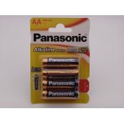 Panasonic LR6 AA baterii alcaline Power 1.5V blister 4