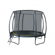 Set trambulina cu plasa si scarita Ookee Jump Carbon, 366 cm