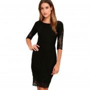 Vestido Cocodeal Negro