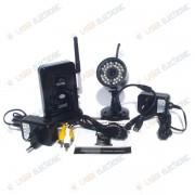 Telecamera Wireless Codificata Digitale con Ricevitore 4 Canali